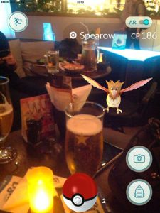 Beers and Spearow, Playing Pokemon in Bangkok Thailand Traveller Expat Pokemon Go Game