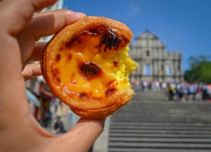 Tasty Egg Tarts, Best Macanese Foods and Eating in Macau Chinese Cantonese Portuguese