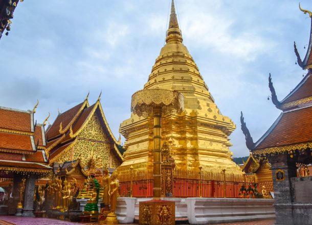 Doi Suthep Temple, Top 10 Attractions in Chiang Mai Province Thailand