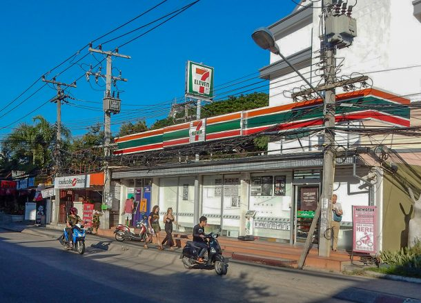 Seven eleven. Expat Living in Nimman Chiang Mai