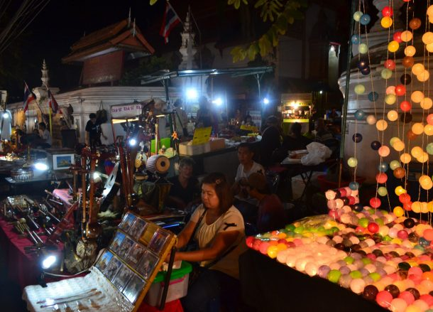 Sunday Night Markets, Top 10 Attractions in Chiang Mai Province Thailand