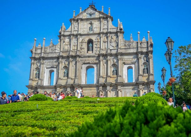 Ruins of Saint Paul, Top 10 Tourist Attractions in Macau