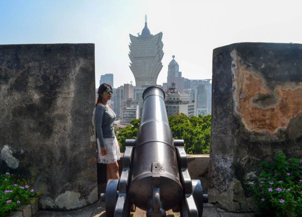Fort Cannons, Top 10 Tourist Attractions in Macau