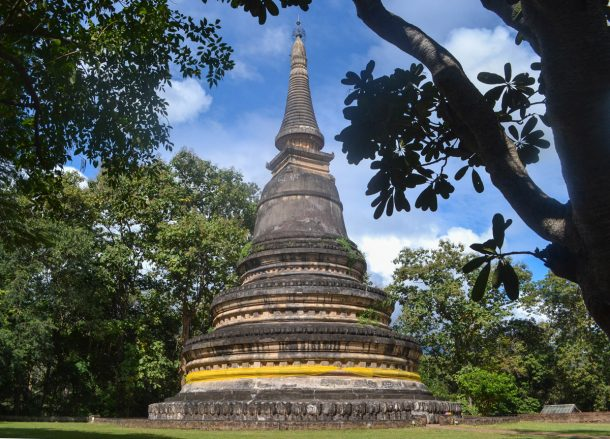 Chedi Wat U Mong, Top 10 Attractions in Chiang Mai Province Thailand