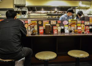 Curry Bar Seats, Coco Ichibanya World's Best Curry House Franchise