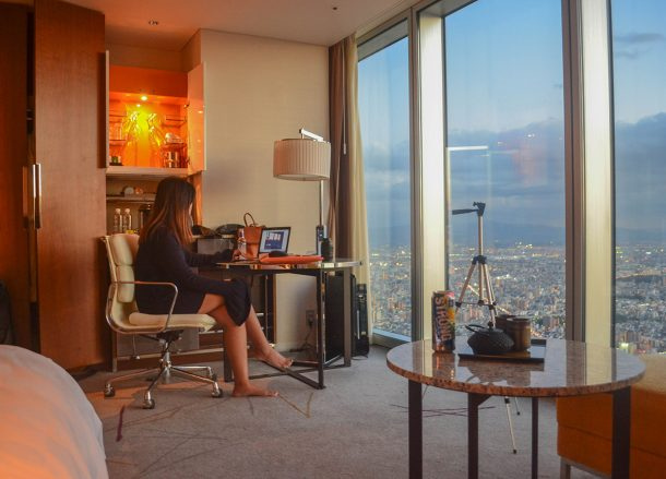 Guestroom Suites Views, Marriott Miyako Hotel, Best Views of Osaka