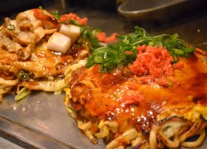 Hiroshima Okonomiyaki, JR Japan Rail Pass Travel in Winter February Snow