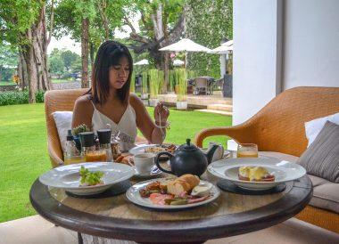 Breakfast at Anantara Vacation Club Chiang Mai Riverside