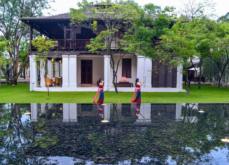 Thai dance at Anantara Vacation Club Chiang Mai Riverside