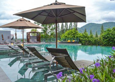 Infinity Pool Views, Romance in Khao Yai DusitD2 Resort Thailand