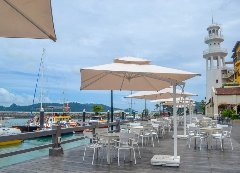 Seagull Coffee House at Resorts World Langkawi in Malaysia