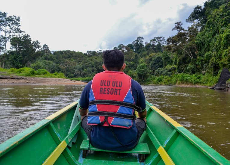 Guide at Ulu Ulu Resort, Temburong National Park Brunei Borneo