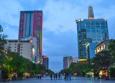 Nguyen Hue Street, Best Thai VISA Runs from Bangkok Thailand
