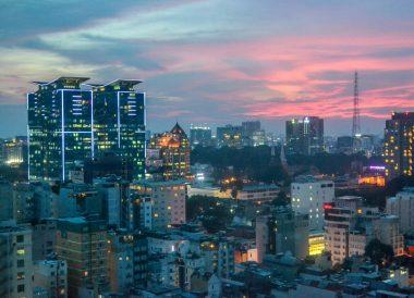 Sunset Views, Le Méridien Saigon Riverside Hotel in Ho Chi Minh