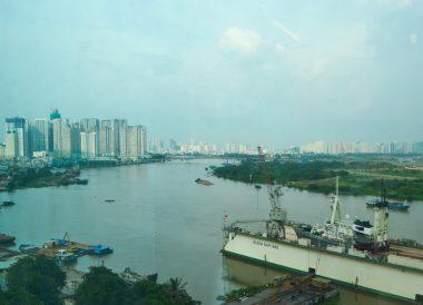 River Views, Le Méridien Saigon Riverside Hotel in Ho Chi Minh