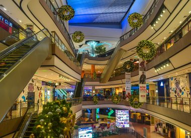 Christmas Time, Best Malls in Korat City Centre Nakhon Ratchasima Thailand