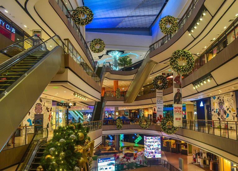Christmas Time, Central Plaza Mall in Korat Nakhon Ratchasima
