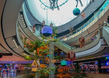 Curvaceous Design ofCentral Plaza Mall in Korat Nakhon Ratchasima