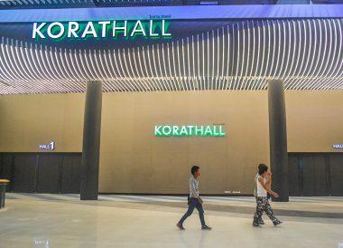 Korat Hall, Central Plaza in Korat. Central Plaza Mall in Korat Nakhon Ratchasima