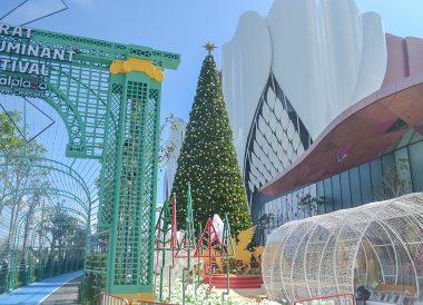 Christmas Tree, Central Plaza Mall in Korat Nakhon Ratchasima