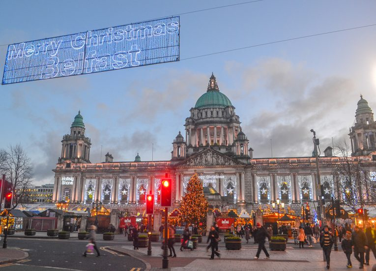 Belfast City Hall, Traditions of Christmas in Northern Ireland Bangor