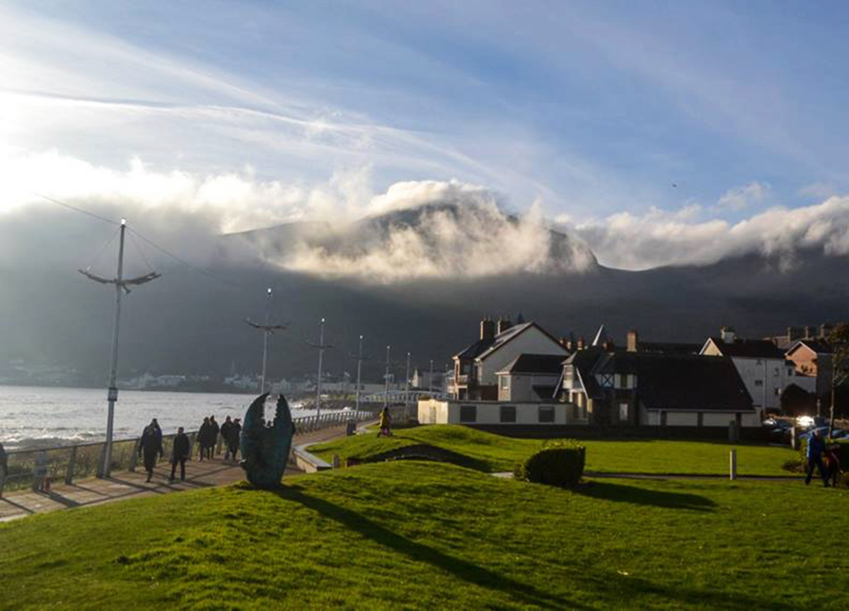 tourism ni Tourism ni promoted some of northern ireland's top tourist destinations in  september and october, encouraging the audience to 'say hello to.