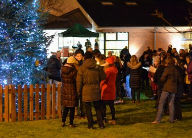 Carols Outdoors, Traditions of Christmas in Northern Ireland Bangor