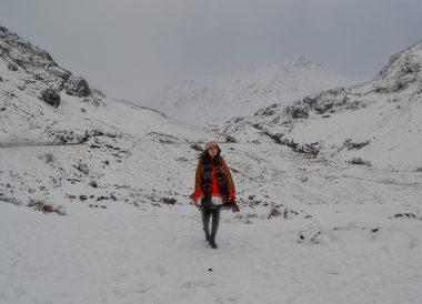 Glen Coe Mountains, Road Trip Winter in Scottish Highlands
