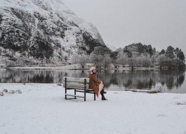 Glen Finnan, Winter Road Trip in the Scottish Highlands Snow Scotland