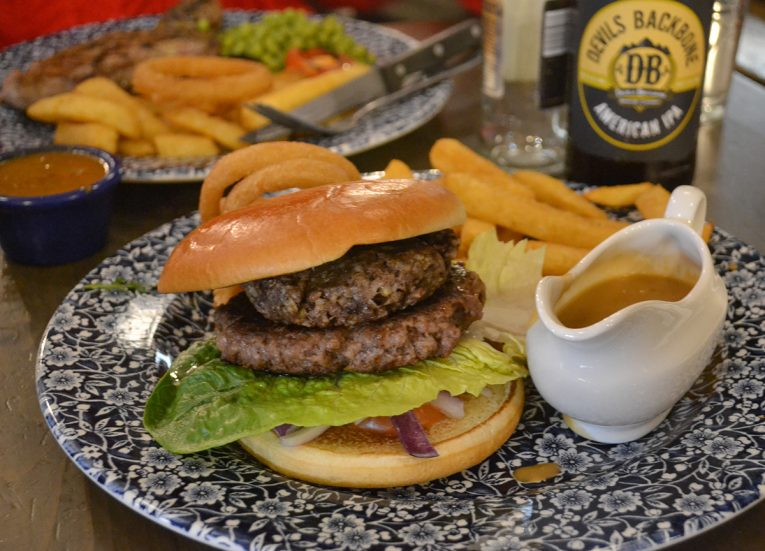 Wetherspoons Burger, Winter Road Trip in the Scottish Highlands Snow Scotland