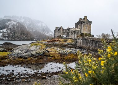 Eilean Donan Castle, Winter Road Trip in the Scottish Highlands Snow Scotland (2)