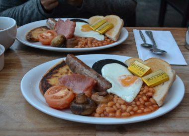 Scottish Breakfast, Road Trip Winter in Scottish Highlands Scotland (1)