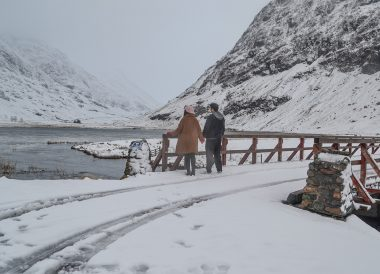 Glen Coe Mountains, Road Trip Winter in Scottish Highlands (2)