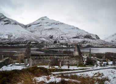 Kyle of Lochalsh, Winter Road Trip in the Scottish Highlands Snow Scotland
