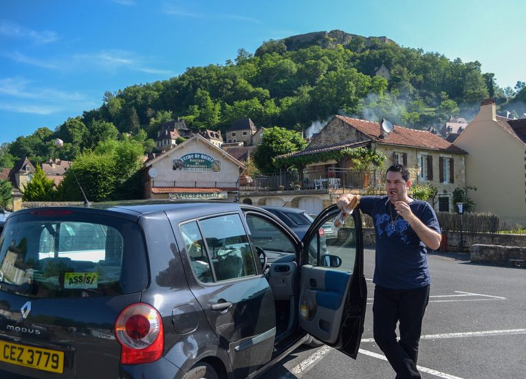 Road Trip Car and Camping in France (1)