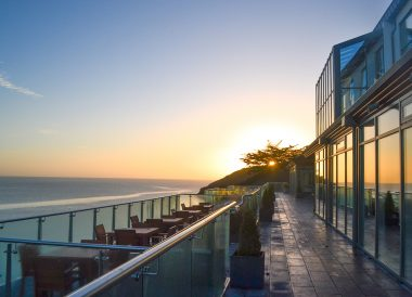 Morning Sunrise at Cliff House Hotel Ardmore Waterford Ireland