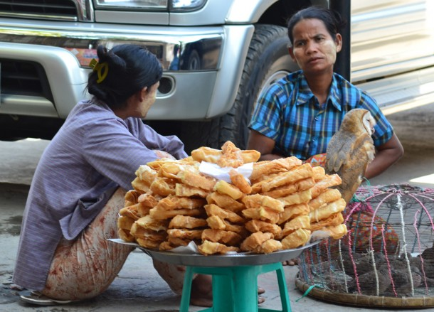 Deep Fried Dough, Top Burmese Food, Eating Myanmar, Burma