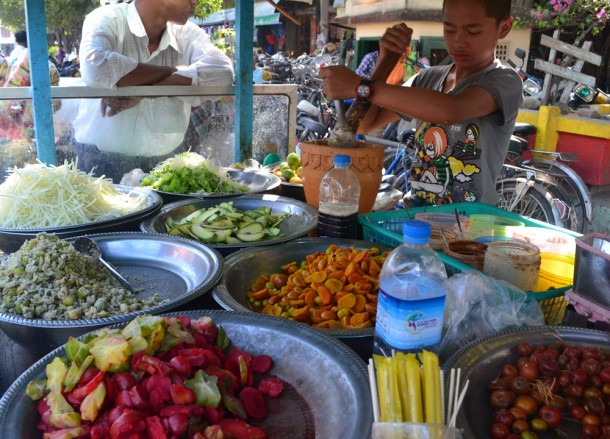 Burmese Papaya Salad, Top Burmese Food, Eating Myanmar, Burma